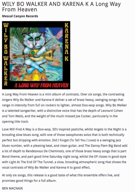 A Long Way from Heaven_Blues Matters Review