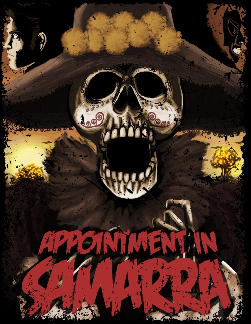 Appointment in Samarra Poster © Héctor Bustamante. All Rights Reserved
