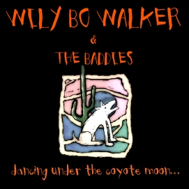 Dancing Under the Coyote Moon - Artwork © Wily Bo Walker. All Rights Reserved