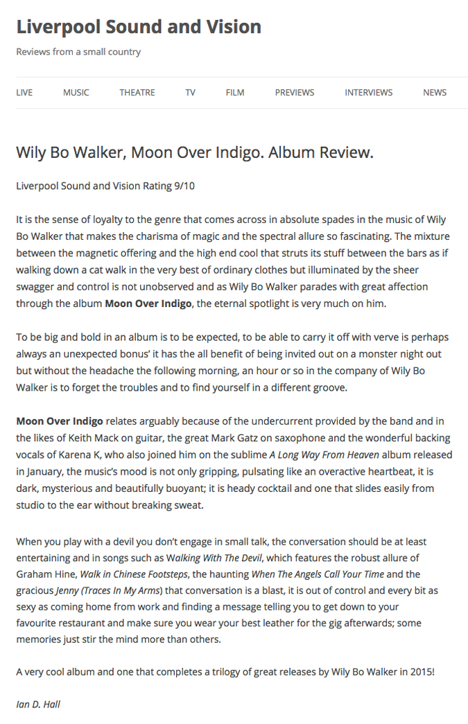 Moon Over Indigo_Liverpool Sound and Vision Review