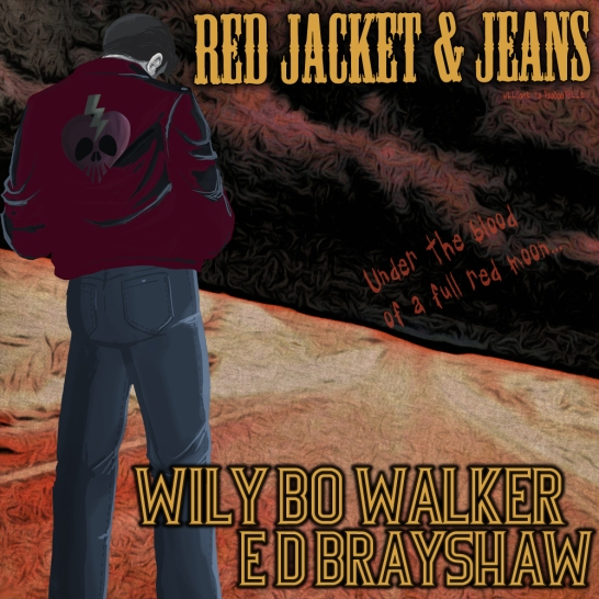 Red Jacket and Jeans Voodooville - Artwork © Héctor Bustamante, Wily Bo Walker. All Rights Reserved