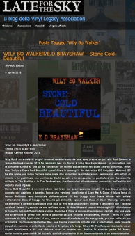 Stone Cold Beautiful_Late for the Sky Review
