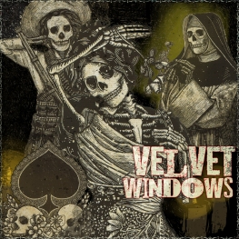 Velvet Windows - Artwork © 2017 Wily Bo Walker. All Rights Reserved