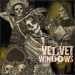 Velvet Windows - Artwork © 2017 Wily Bo Walker. All Rights Reserved
