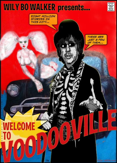 VoodooVille A4 Poster © Susan Shulman. All Rights Reserved