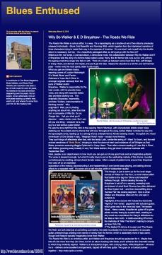 Blues Enthused Review_TRWR_Mar 2019